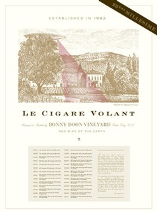Le Cigare Volant 25th Millésime Poster