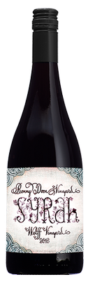"2016 Syrah, ""Wolff Vineyard"