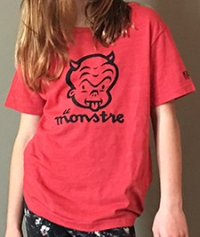 Youth & Toddler Le Monstre T-shirt Image